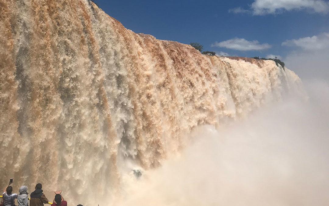 Die größten Wasserfälle der Welt