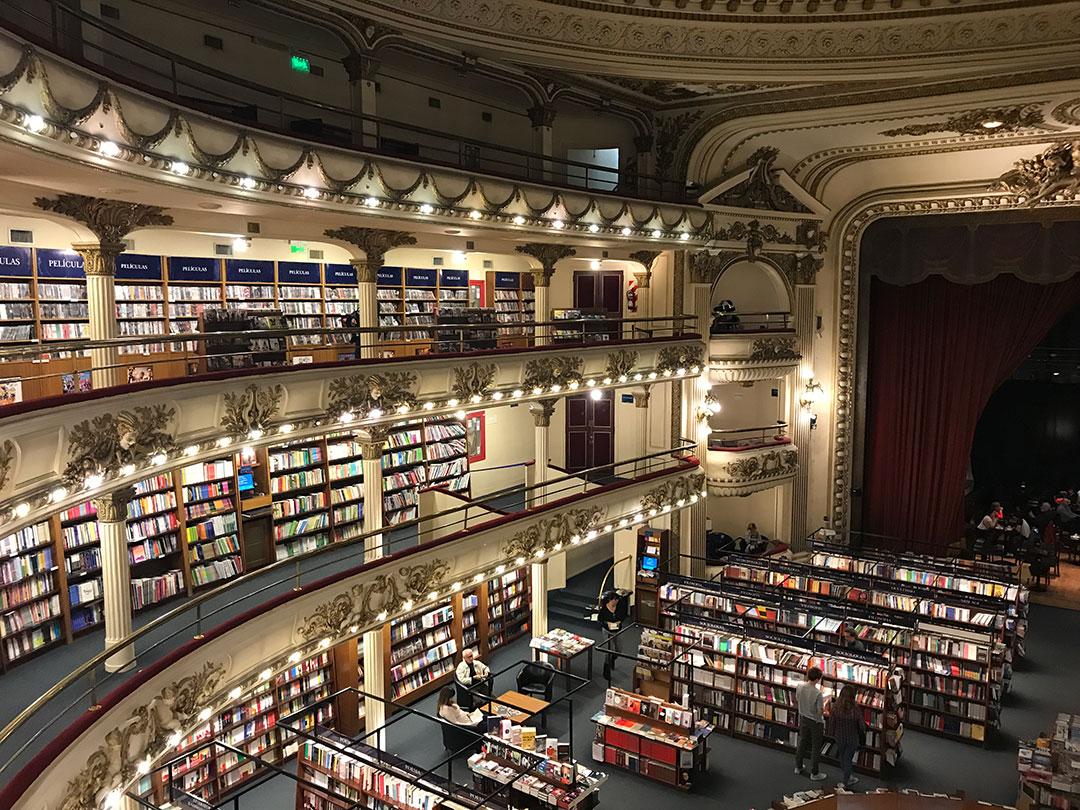 Buchhandlung El Ateneo Grand Splendid Buenos Aires