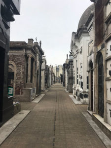 Friedhof La Recoleta Buenos Aires