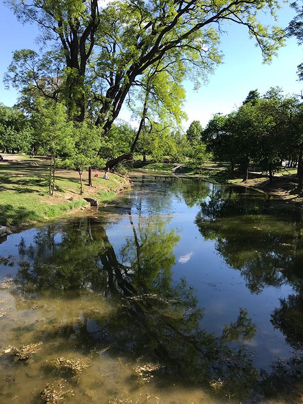 Parque Sarmiento Cordoba Argentinien