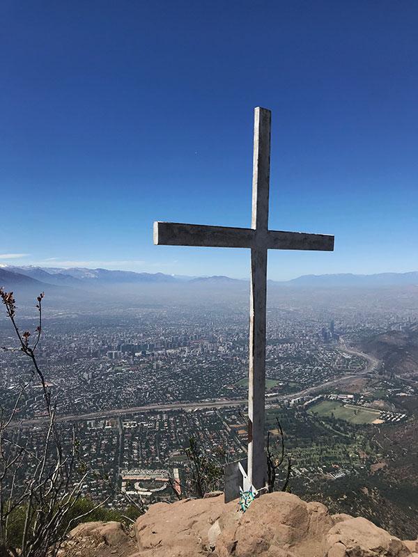 Cerro Manquehue Santiago de Chile
