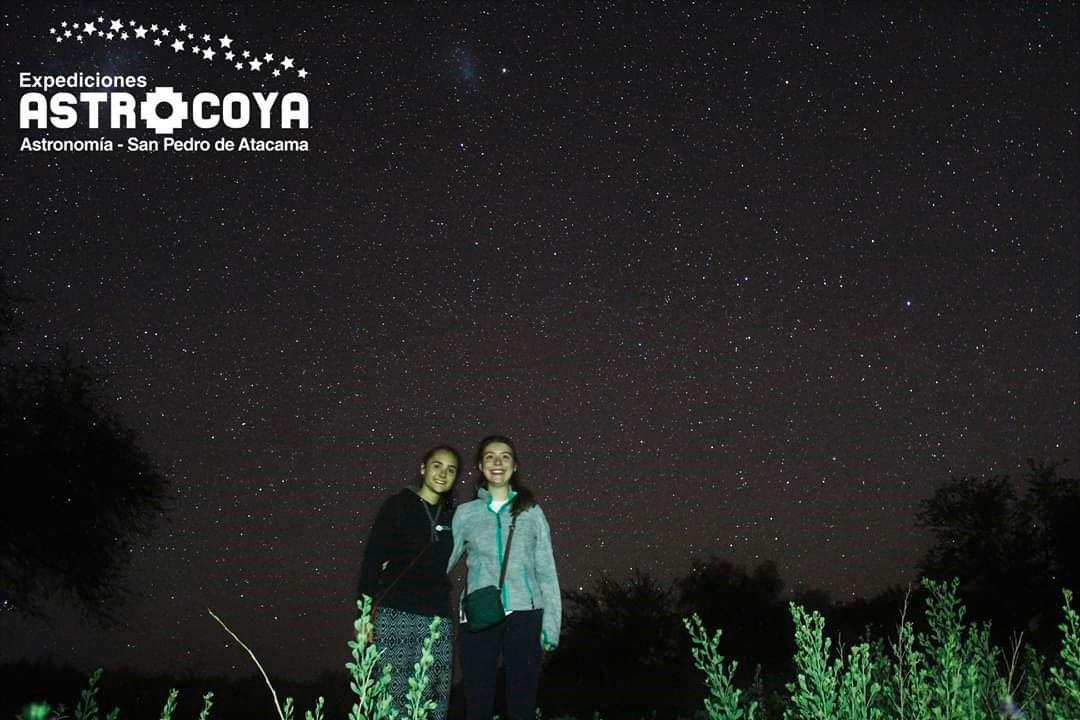 Alma und Josi in der Atacama Wüste Chile