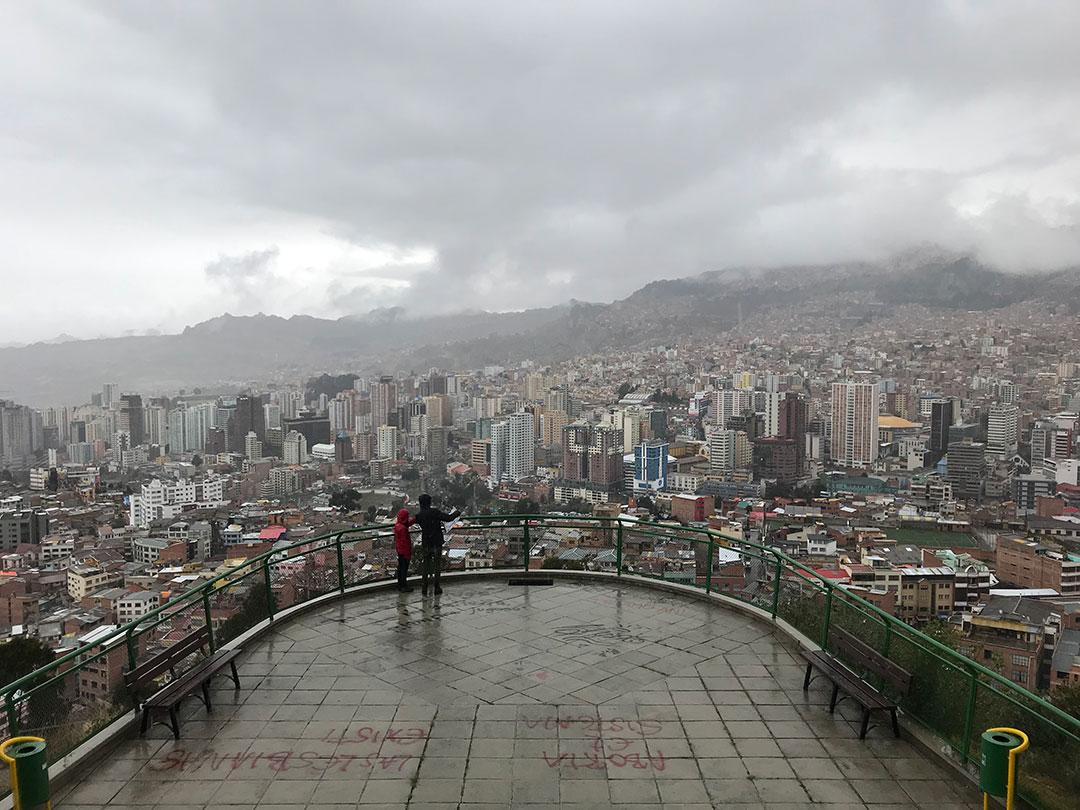 Mirador Killi Killi La Paz Bolivien